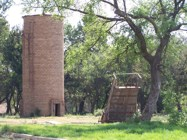 An old water tower